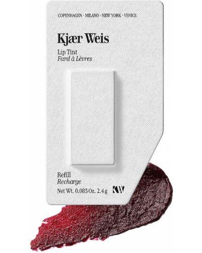 Bezpłatne cięcie czerwony bujny tint do ust Kjaer Weis