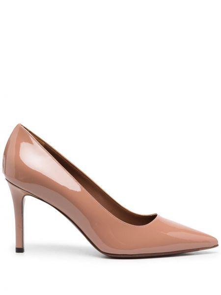Лаковые кожаные туфли-лодочки на каблуке L'autre Chose