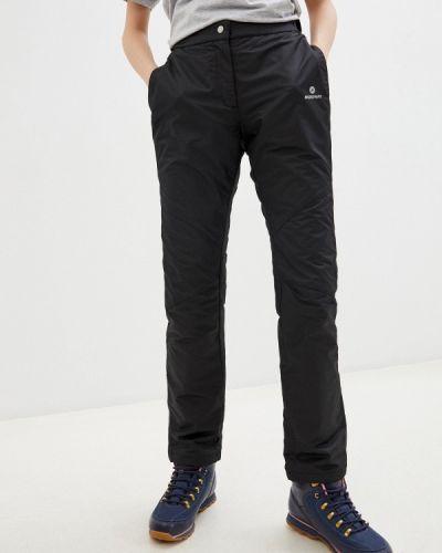 Черные утепленные брюки Nordway