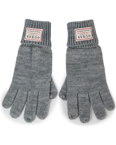 Rękawiczki wełniany akryl Guess