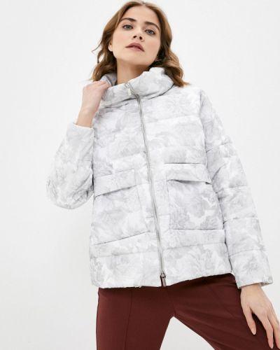 Утепленная белая куртка Anna Verdi