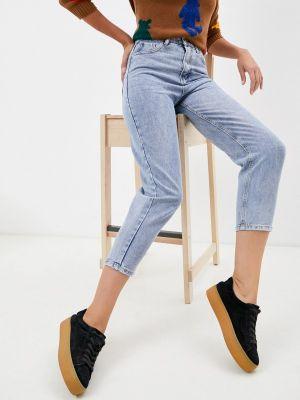 Голубые зимние джинсы Vitacci