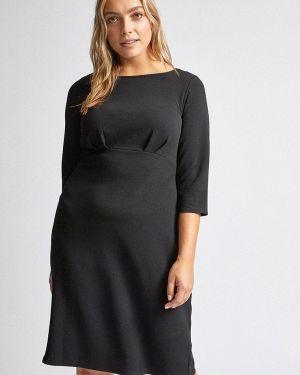 Повседневное платье осеннее черное Dorothy Perkins Curve