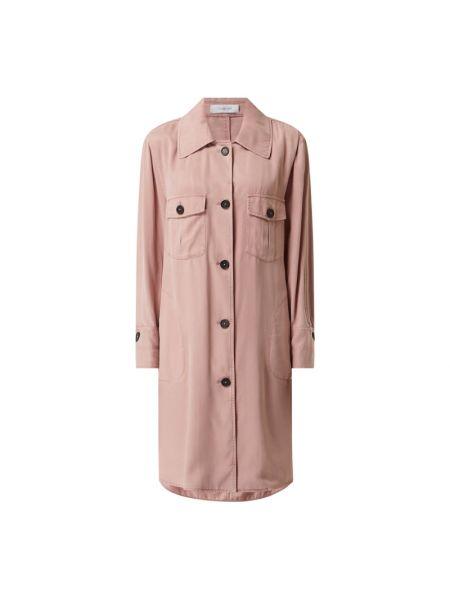 Sukienka rozkloszowana w paski - różowa Blonde No. 8