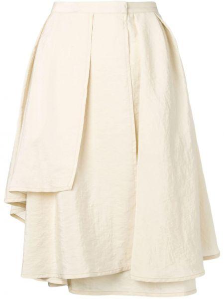 Шелковая юбка миди Lemaire