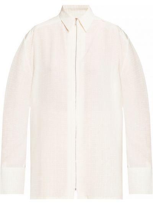 Koszula oversize - beżowa Givenchy