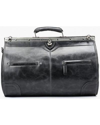 Серая дорожная сумка Alexander Tsiselsky