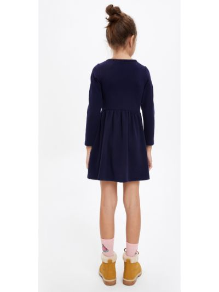Синее платье Defacto