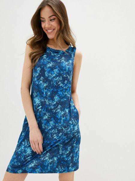 Платье платье-сарафан синее Columbia