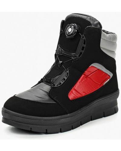 Черные ботинки текстильные Jog Dog