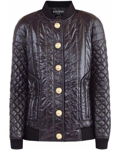 Куртка на пуговицах трикотажная Balmain