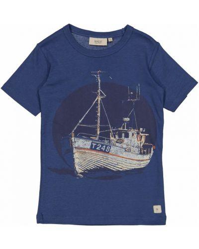 Niebieska t-shirt Wheat