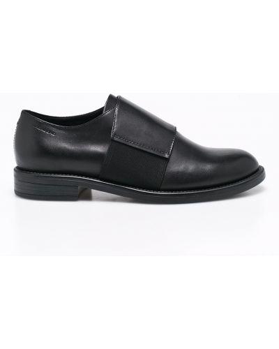 Кожаные туфли резиновые текстильные Vagabond