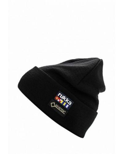 Черная шапка осенняя Rukka