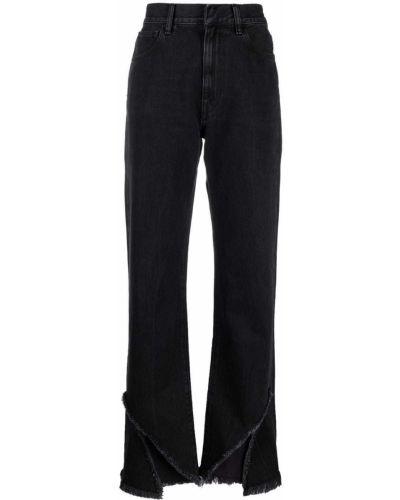 Черные хлопковые джинсы Ssheena