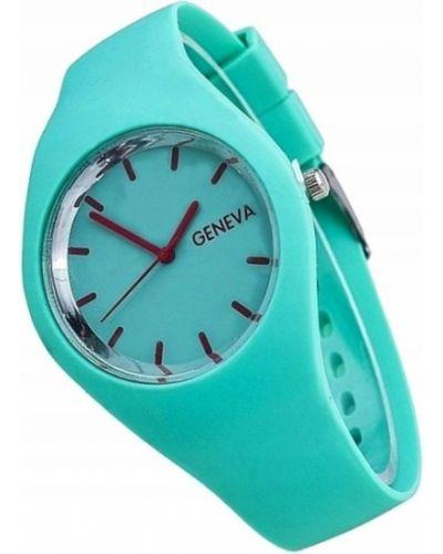 Sport zegarek sportowy turkusowy Geneva