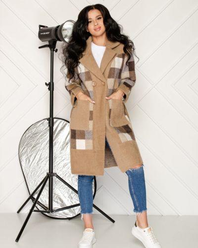 Пальто из альпаки - бежевое Rozetka