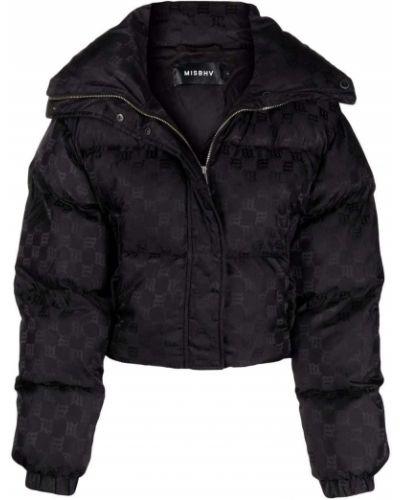 Черная укороченная куртка Misbhv