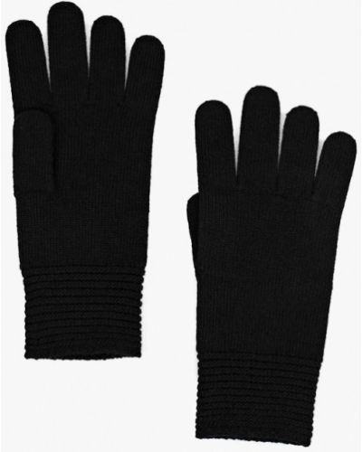 Черные перчатки текстильные United Colors Of Benetton