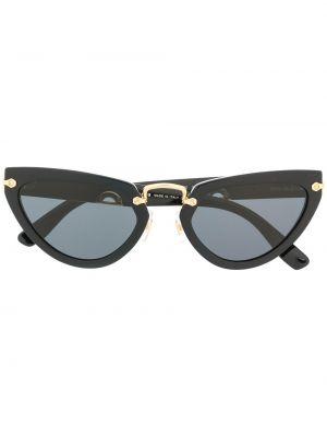 Черные солнцезащитные очки Miu Miu Eyewear