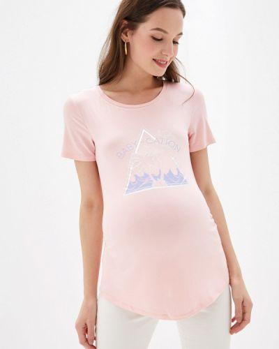 Розовое футбольное поло Dorothy Perkins Maternity