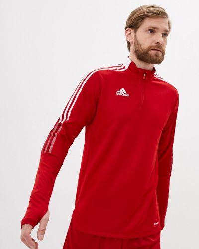 Красная толстовка Adidas