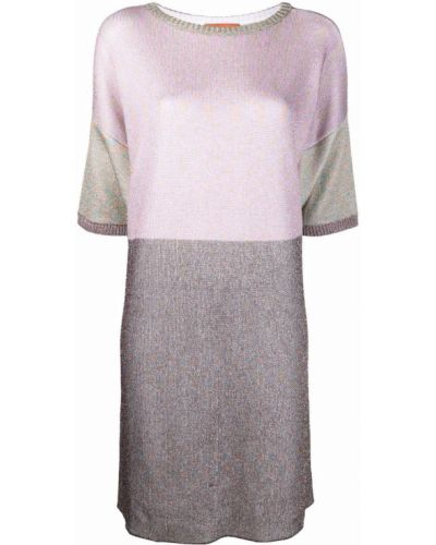Шерстяное платье - розовое Missoni