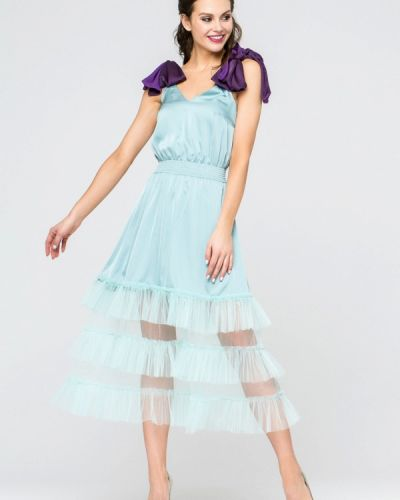 Бирюзовое вечернее платье Yulia'sway