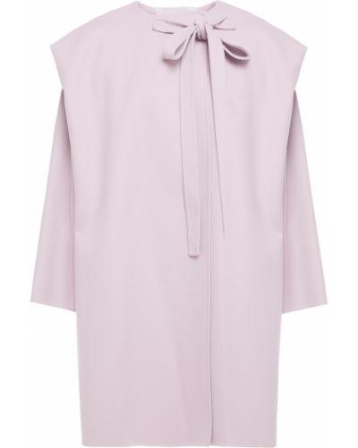 Кашемировое пальто двубортное с карманами Valentino