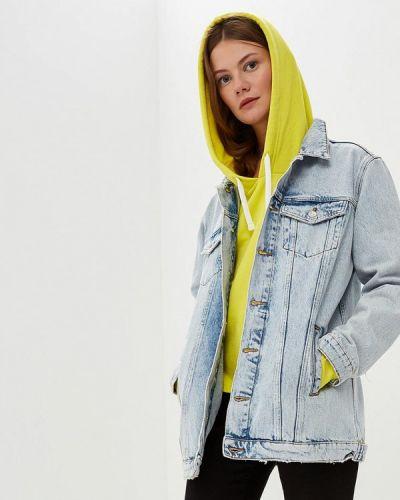 Джинсовая куртка осенняя Mango