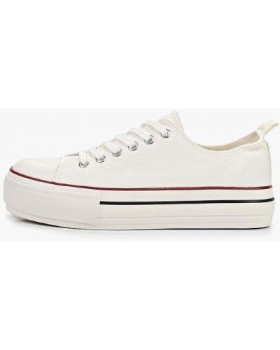 Низкие кеды белые для обуви Ideal Shoes®