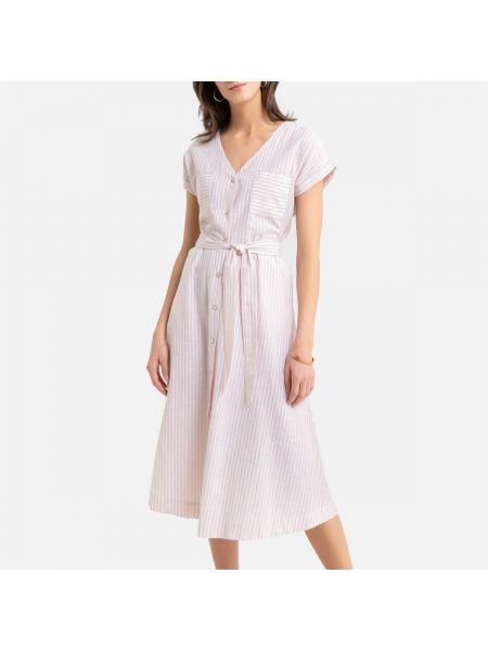 Платье мини макси в полоску La Redoute