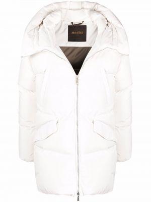Белая куртка классическая Moorer