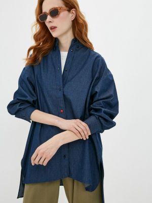 Джинсовая рубашка - синяя Theone By Svetlana Ermak