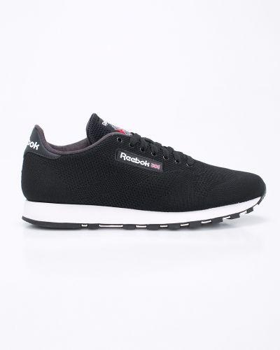 Черные льняные кроссовки Reebok