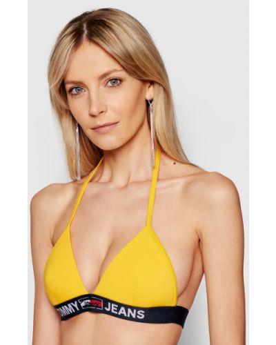 Żółty bikini Tommy Jeans