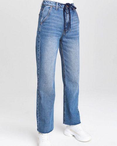Прямые синие прямые джинсы O'stin