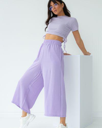 Фиолетовые кюлоты Clew