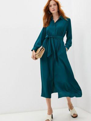 Платье рубашка - зеленое Weekend Max Mara
