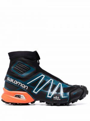 Разноцветные кроссовки - черные Salomon S/lab