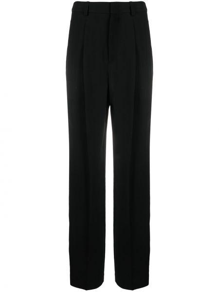 Свободные черные брюки свободного кроя Isabel Marant