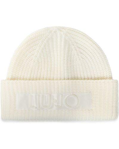 Biała czapka Liu Jo