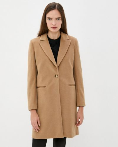 Бежевое зимнее пальто Rinascimento