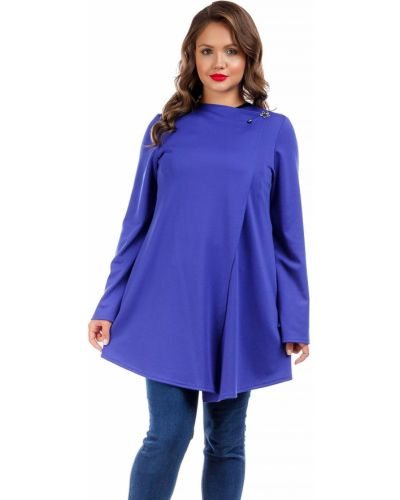 Трикотажный кардиган - синий Liza Fashion