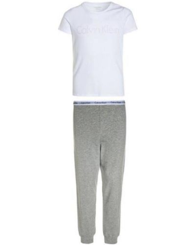 Spodni piżama krótki rękaw Calvin Klein