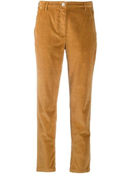 Прямые брюки вельветовые с карманами Jacob Cohen