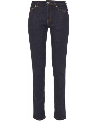 Хлопковые джинсы - синие Ganni