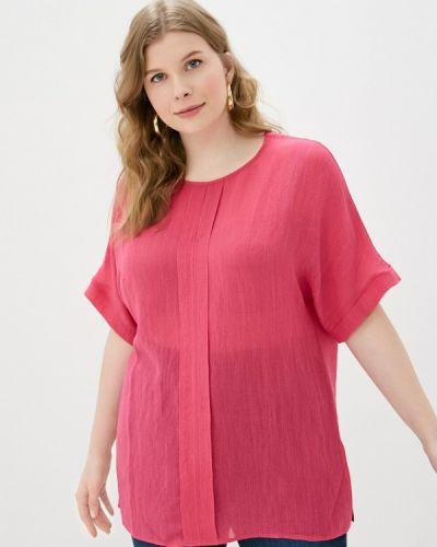 Розовая блузка с короткими рукавами Svesta