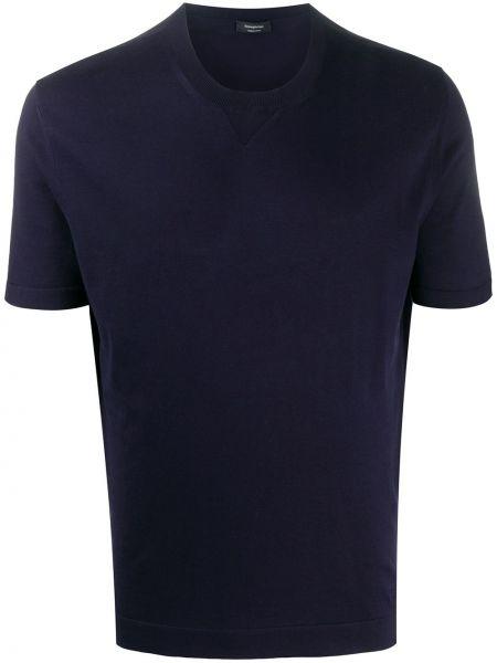 Koszula krótkie z krótkim rękawem klasyczna prosto Ermenegildo Zegna