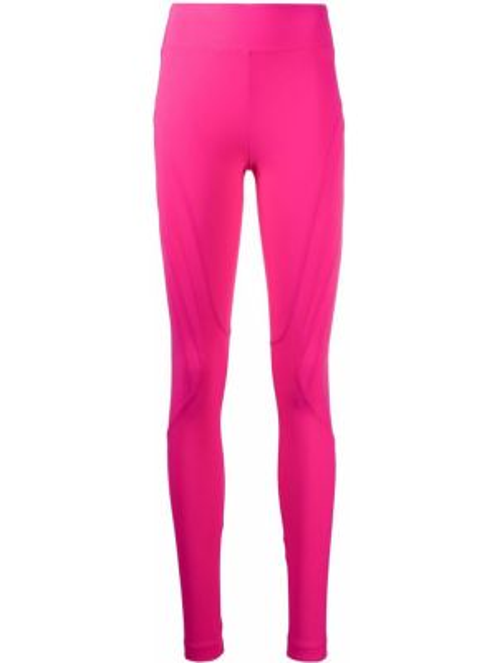Спортивные брюки розовый с завышенной талией No Ka 'oi